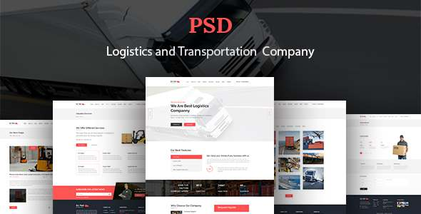 Go Fast-Transport & Logistics PSD Template - PSD Templates  TFx Lothair Scotty
