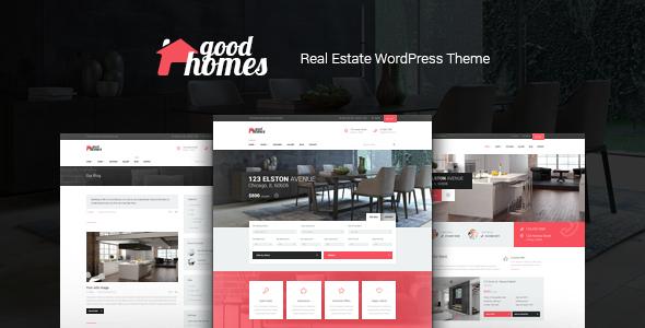 Good Homes   Real Estate Theme - Real Estate WordPress TFx Raymund Crawford