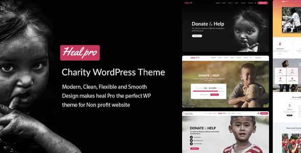 Heal Pro- Multipurpose Charity WordPress Theme - Charity Nonprofit TFx Beckett Tye