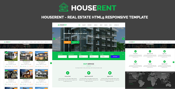 HouseRent - Real Estate HTML5 Responsive Template - Business Corporate TFx Devon Levon