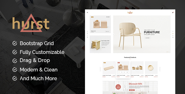 Hurst - Furniture Shopify Theme - Shopping Shopify TFx Bradley Zachery