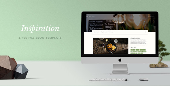 Inspiration — Lifestyle Blog HTML Template - Personal Site Templates TFx Cowessess Kiaran