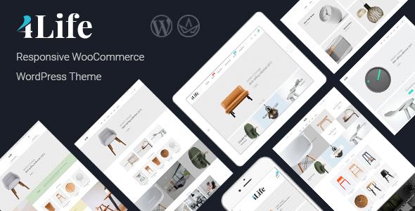 JMS 4Life - Responsive WordPress Theme - WooCommerce eCommerce TFx Tiriaq Read
