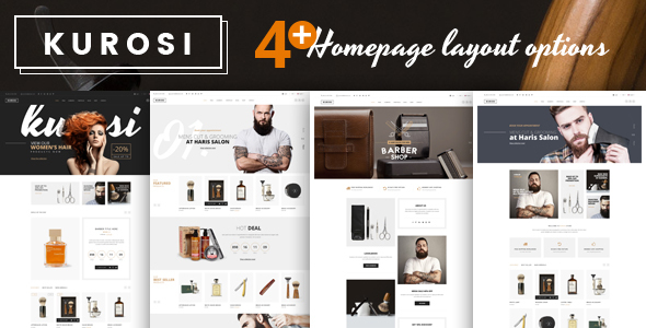 Kurosi – Magento Theme for Barbers & Hair salon – Miscellaneous Magento TFx Sammy Fitzroy