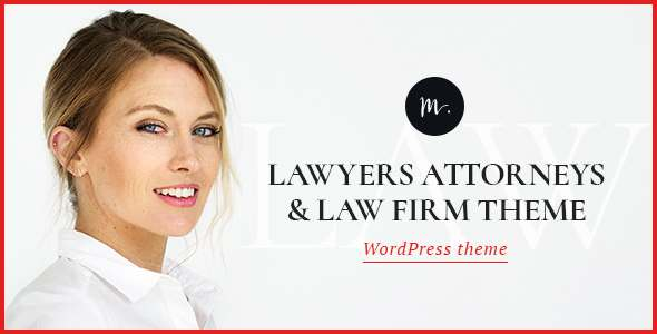 M.Williamson | Lawyers & Legal Adviser Theme - Business Corporate TFx Everett Cassidy