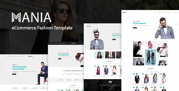 Mania - eCommerce Fashion Template - Fashion Retail TFx Malone Minoru