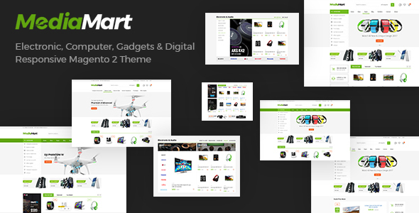 MediaMart - SuperMarket Electronic, Computer, Gadgets Responsive Magento Theme - Technology Magento TFx Dannie Ell