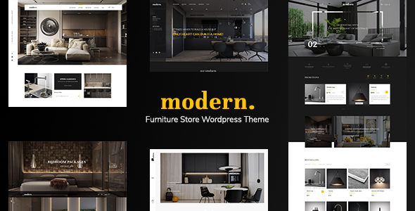 Modern - Ecommerce PSD Template - Retail PSD Templates TFx Malakai Pancras