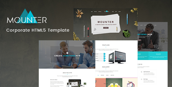 Mounter – Corporate HTML Template - Business Corporate TFx Ryou Everitt
