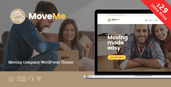 MoveMe | Moving & Storage Company - Business Corporate TFx Elliot Rene