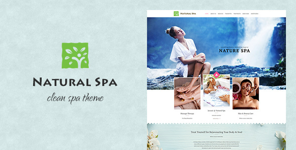 Natural Spa | Magnificent Spa Concept Theme - Retail WordPress TFx Thomas Everard