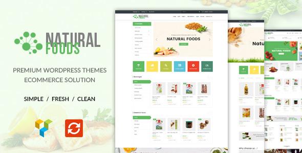 NaturalFood - Responsive WooCommerce WordPress Theme - WooCommerce eCommerce TFx Lincoln Daiki