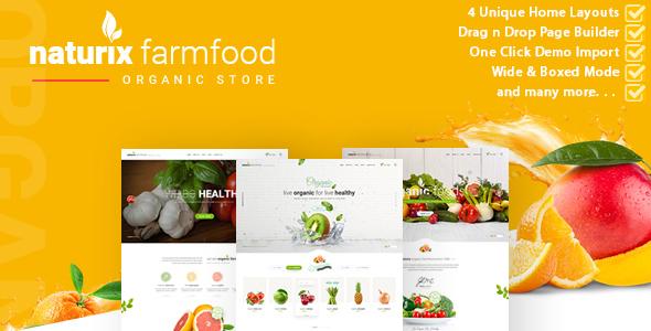 Naturix - Organic Store Woocommerce Theme - WooCommerce eCommerce TFx Roger Winston