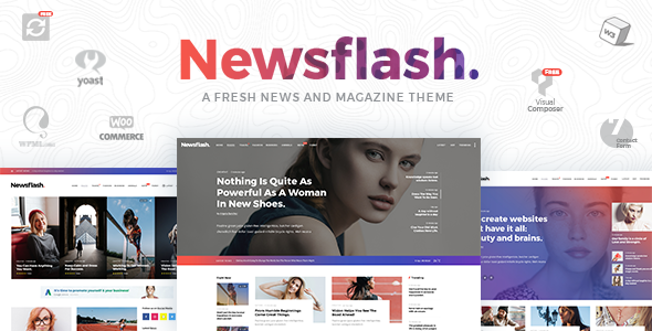 Newsflash - A Fresh Multi-Concept News and Magazine Theme - News / Editorial Blog / Magazine TFx Francis Andre