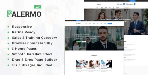 Palermo - Training, Coaching, Consulting & Business WordPress Theme - Business Corporate TFx Gary Masterman