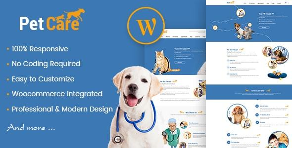 Petcare - Pet Shop And Healthcare WordPress Theme - Retail WordPress TFx Sawyer Dane