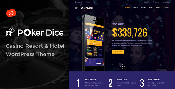 Poker Dice - Casino Resort & Hotel - Travel Retail TFx Hayden Osbert
