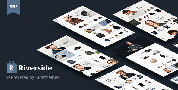 Riverside - Simple & Clean WooCommerce Shop Theme - WooCommerce eCommerce TFx Isaac Dennis