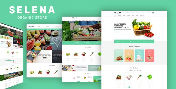 Selena - Organic Responsive Opencart Theme - Health & Beauty OpenCart TFx Solomon Emmett