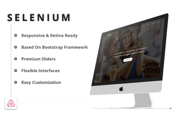 Selenium - Minimal Portfolio HTML Template - Portfolio Creative TFx Douglas Maria