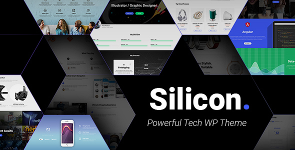 Silicon - Startup and Technology WordPress Theme - Technology WordPress TFx Coy Lionel