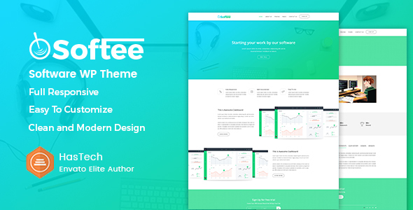 Softee - Multipurpose Software / SaaS Product Theme - Software Technology TFx Hovo Jimmie