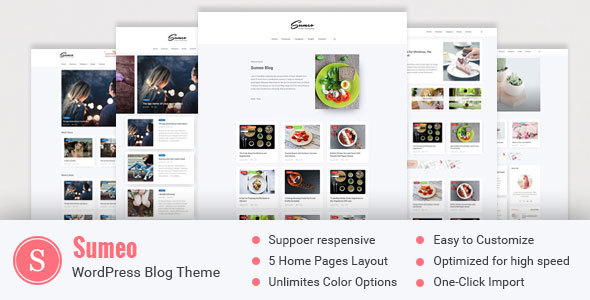 Sumeo - Blog WordPress Themes - Blog / Magazine WordPress TFx Barnabas Nikolas