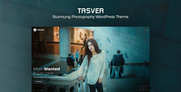 Tasver | Photography & Magazine Theme - Photography Creative TFx Alf Calvin