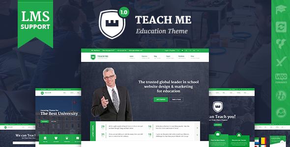 TeachMe – WordPress Theme for Schools - Education WordPress TFx Hayato Luke