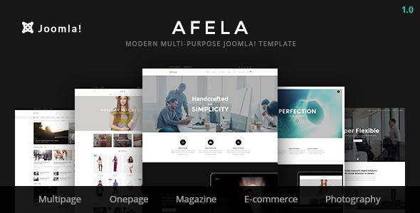 Afela | Flexible Multi-Purpose Business Joomla Theme - Joomla CMS Themes TFx Curtis Sheard