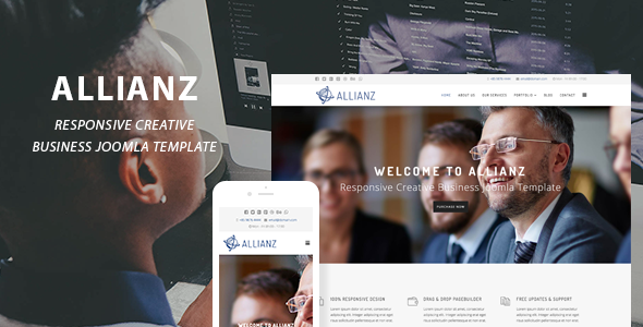 Allianz | Creative Business Joomla Template – Creative Joomla TFx Vin Beau