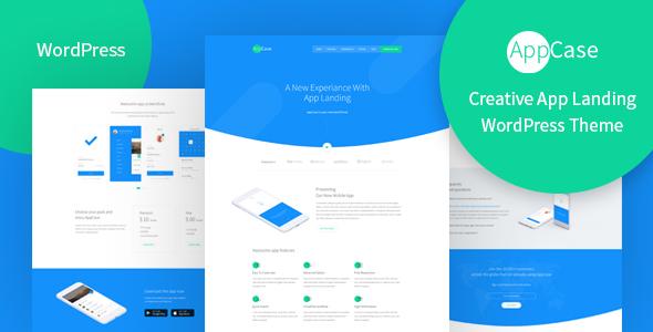 AppCase - WordPress App Landing Theme - Software Technology TFx Hiawatha Chile