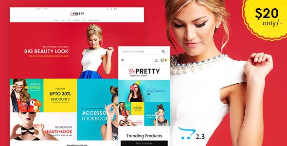 BePRETTY - Opencart Multi Purpose Responsive Theme - OpenCart eCommerce TFx Orville Roger