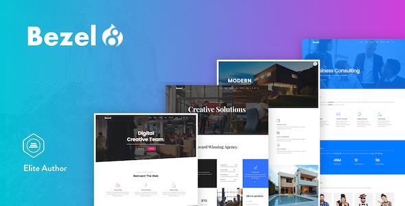 Bezel - Creative Multi-Purpose Drupal 8 Theme - Creative Drupal TFx Jojo Lyall