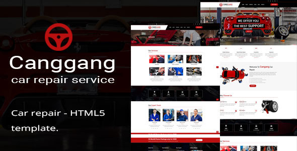 Canggang || Auto Mechanic & Car Repair Template - Business Corporate TFx Sefton Ohannes