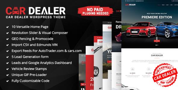 Car Dealer - Automotive Responsive WordPress Theme - Business Corporate TFx Gurgen Isaiah