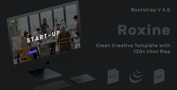 Corporate Multi-Purpose HTML Template for Business – Roxine – Corporate Site Templates TFx Oswald Gideon