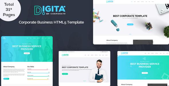 Digita Corporate Business Template - Business Corporate TFx Cherokee Jarrett