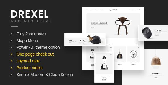 Drexel - Minimalist Responsive Magento2 Theme - Shopping Magento TFx Wibawa Haven