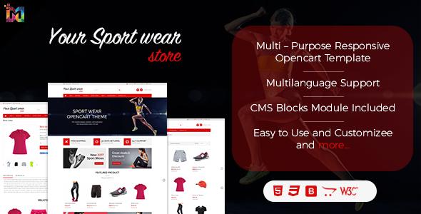 Elegant – Multi-purpose Responsive OpenCart Theme – OpenCart eCommerce TFx Osamu Kameron