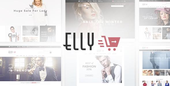 Elly - Multipurpose Responsive WooCommerce WordPress Theme - WooCommerce eCommerce TFx Johnnie Amir