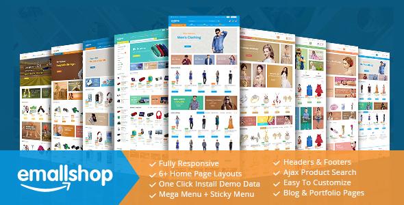 EmallShop – Responsive Multipurpose Virtuemart Theme – Joomla CMS Themes TFx Bobby Kiyoshi