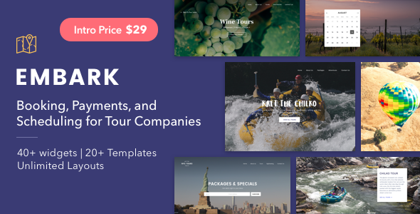 Embark - WordPress Theme for Tour Companies - Travel Retail TFx Zoroaster Trace