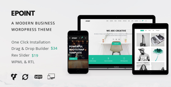 Epoint | A Modern Business WordPress Theme - Business Corporate TFx Hachiro Xander
