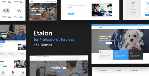 Etalon - Multi-Concept Theme for Professional Services - Business Corporate TFx Kenji Faramond