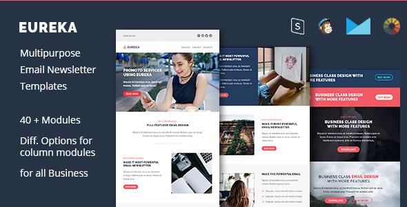 Eureka - business email templates - Email Templates Marketing TFx Sebastian Sasha