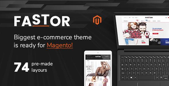 Fastor - Premium Magento 2 Theme - Magento eCommerce TFx Trent Harmon