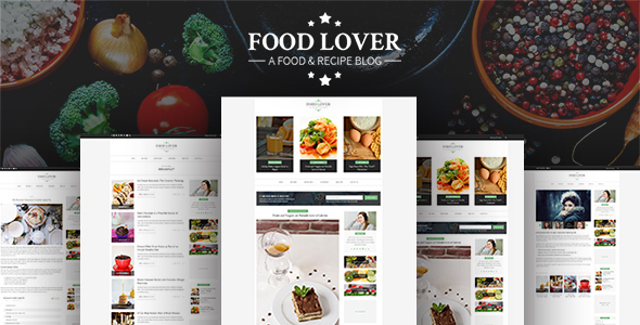 Food-Lover - Responsive Restaurant Template - Food Retail TFx Jep Delmar