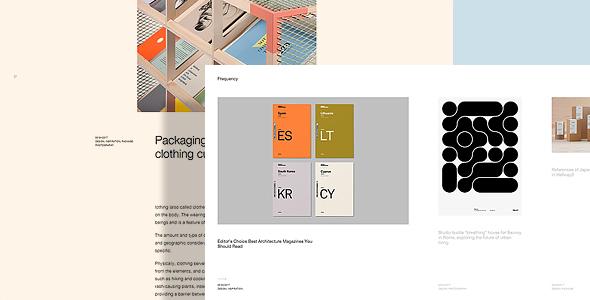 Frequency - Portfolio WordPress Theme - Portfolio Creative TFx Kenzie Rollo