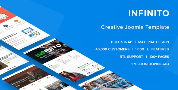 Infinito – All In One Joomla Template – Corporate Joomla TFx Hedley Bryant